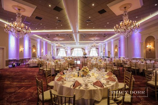 Corinthian Ballroom Wedding Reception at The Columns Banquets - Buffalo NY