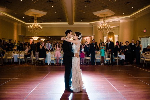 Corinthian Ballroom Wedding Receptions at The Columns Banquets - Buffalo NY